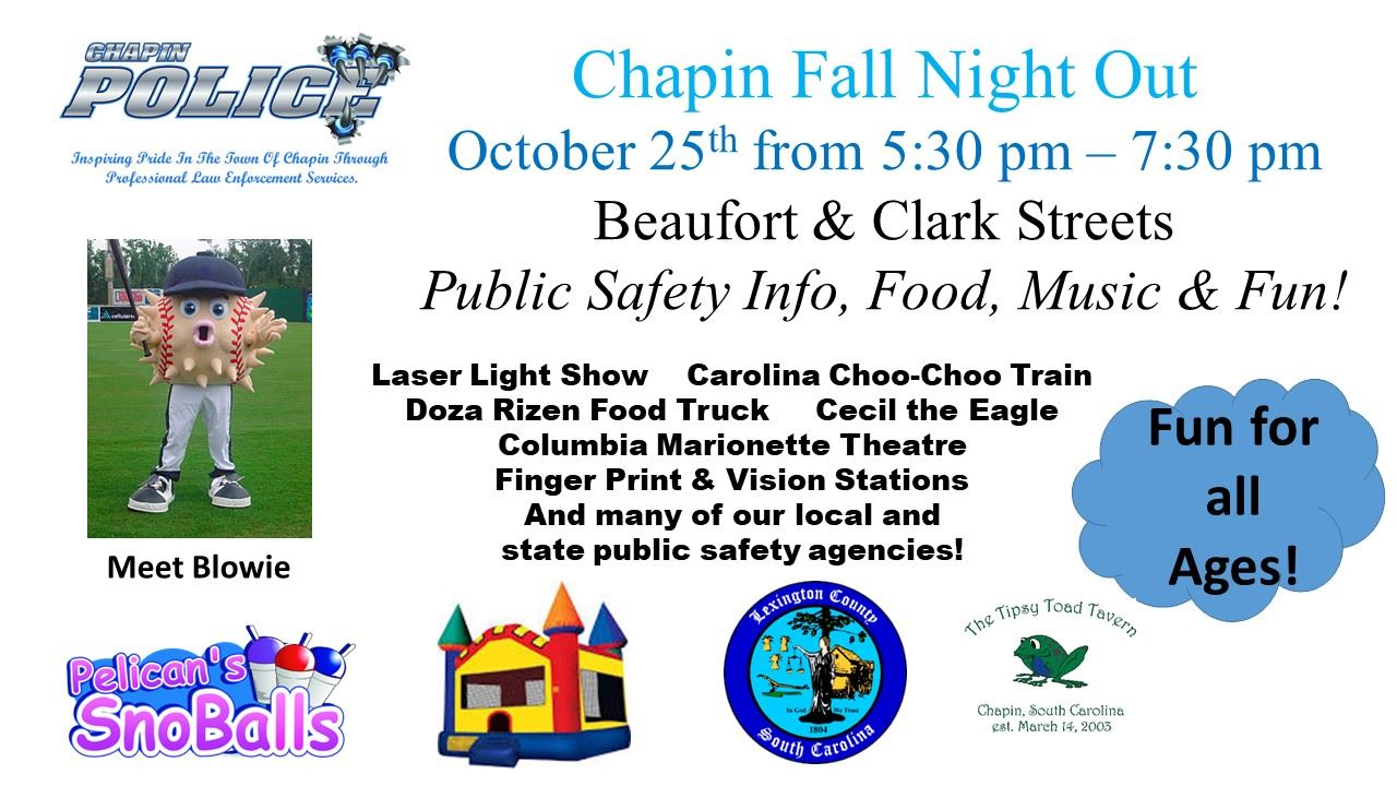 Chapin Fall Night Out