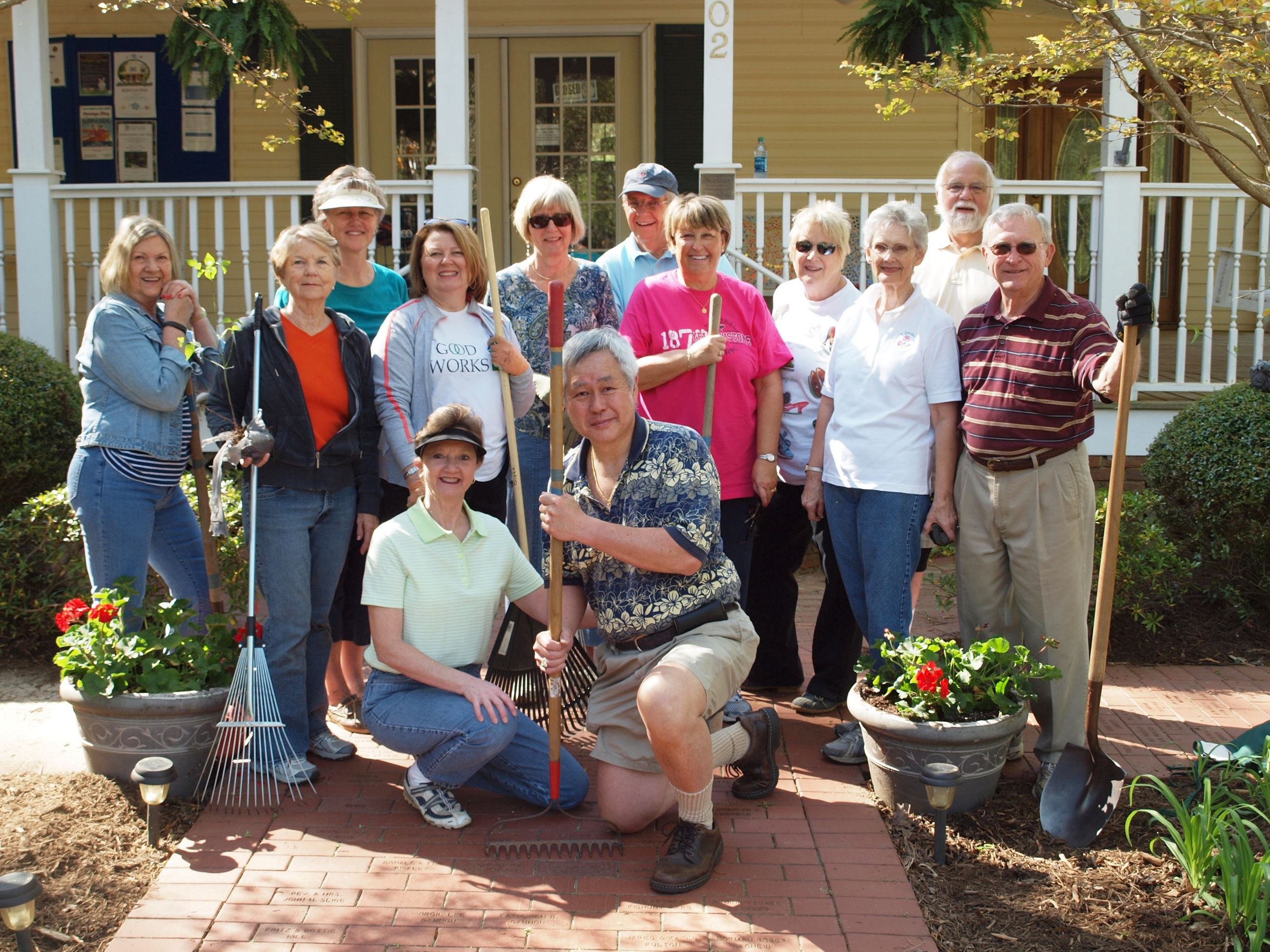 Photo of Chapin Garden Club members