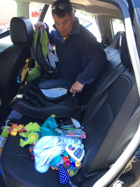Car safety seat inspections