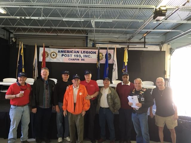 American Legion volunteers